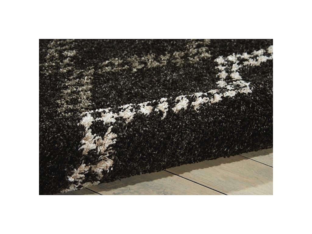 Nourison Tangier8' x 10' Black Rectangle Rug