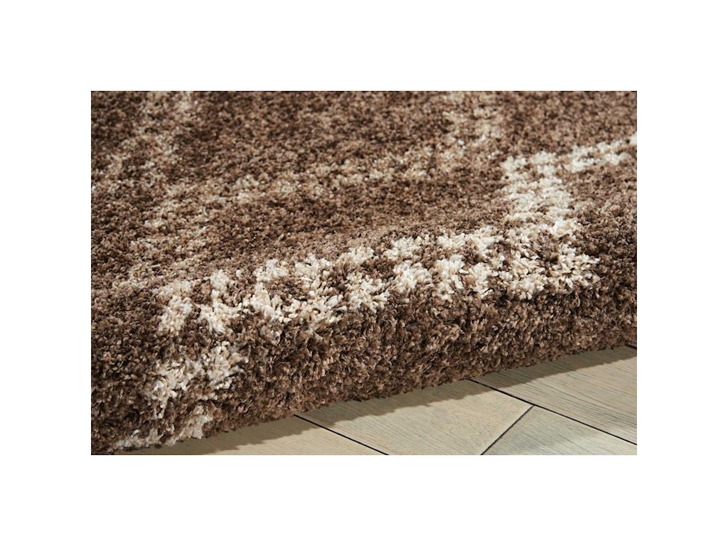 Nourison Tangier5' x 7' Latte Rectangle Rug