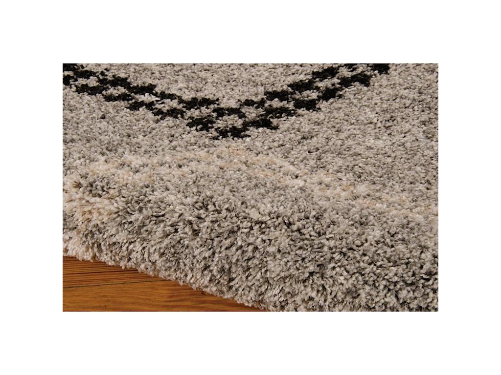 Nourison Tangier5' x 7' Silver Rectangle Rug
