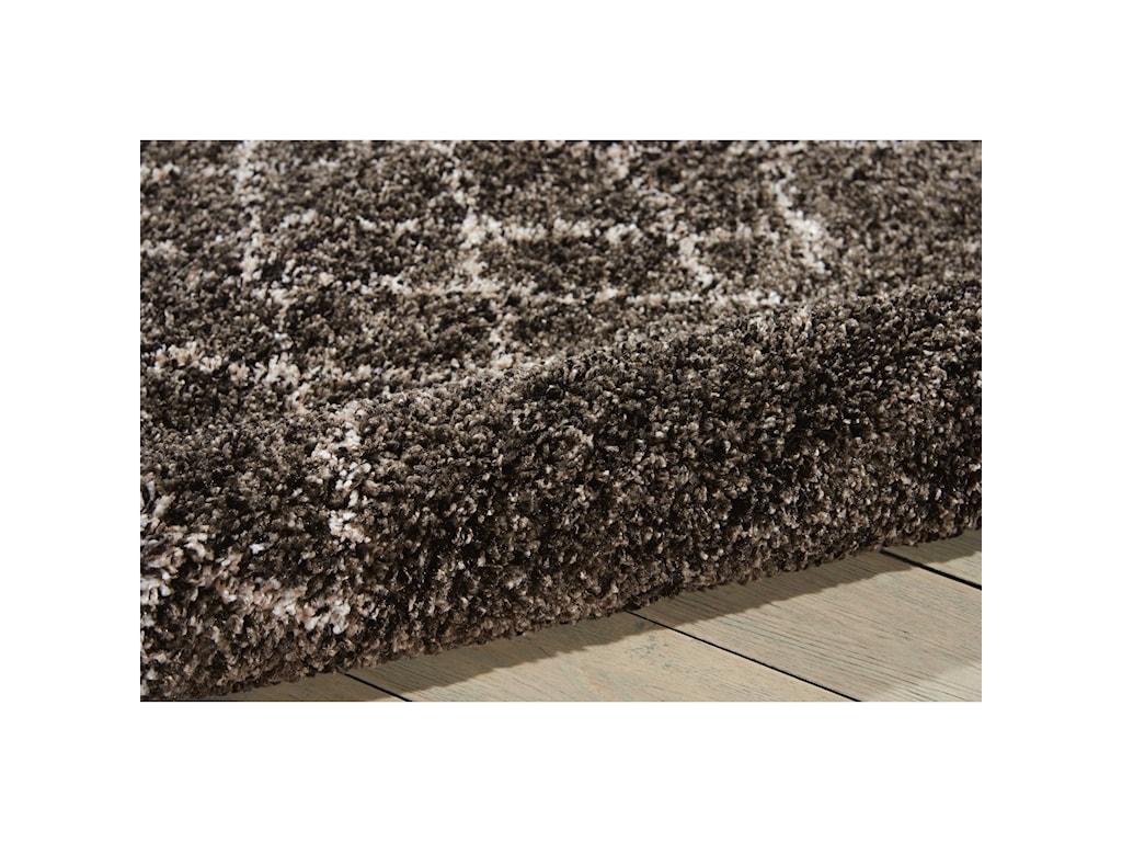 Nourison Tangier5' x 7' Charcoal Rectangle Rug