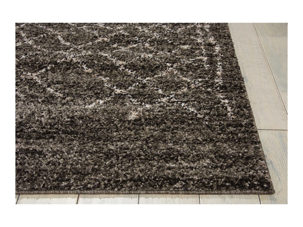 Nourison Tangier8' x 10' Charcoal Rectangle Rug