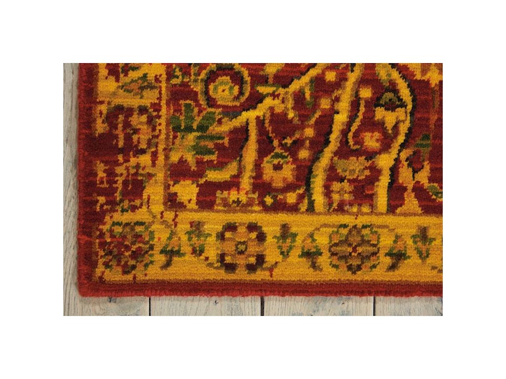 Nourison Timeless12' x 15' Scarlet Rectangle Rug