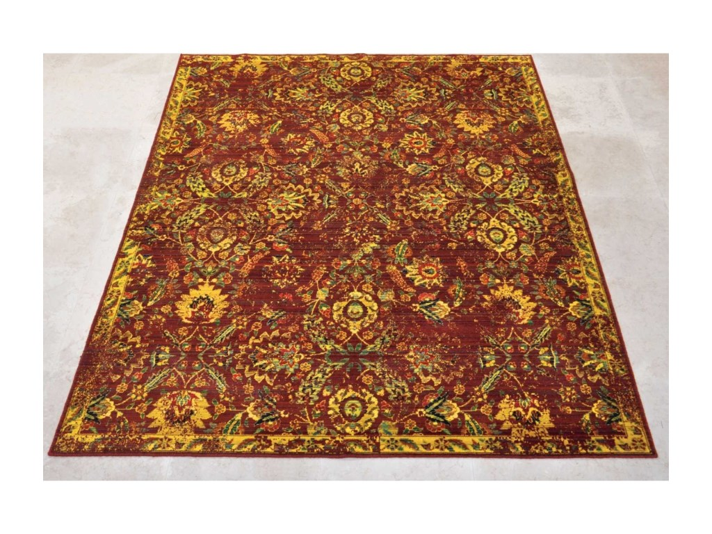 Nourison Timeless12' x 15' Pomegranate Rectangle Rug