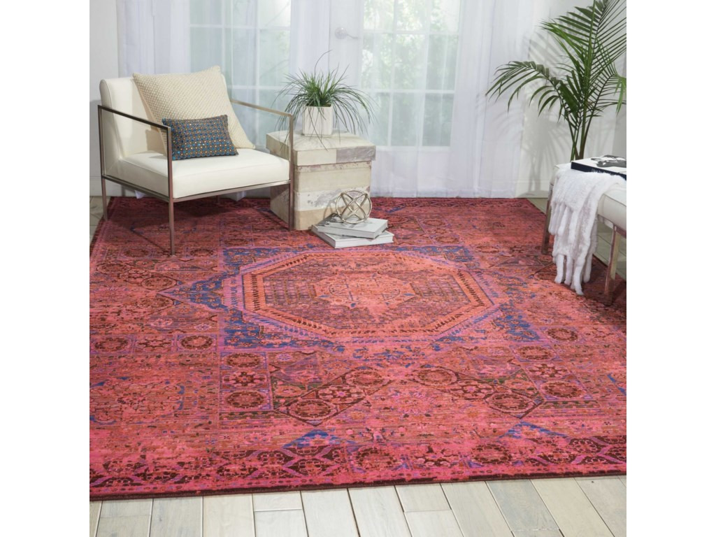 Nourison Timeless12' x 15' Blush Rectangle Rug