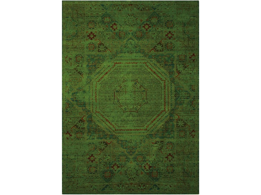 Nourison Timeless12' x 15' Teal Rectangle Rug