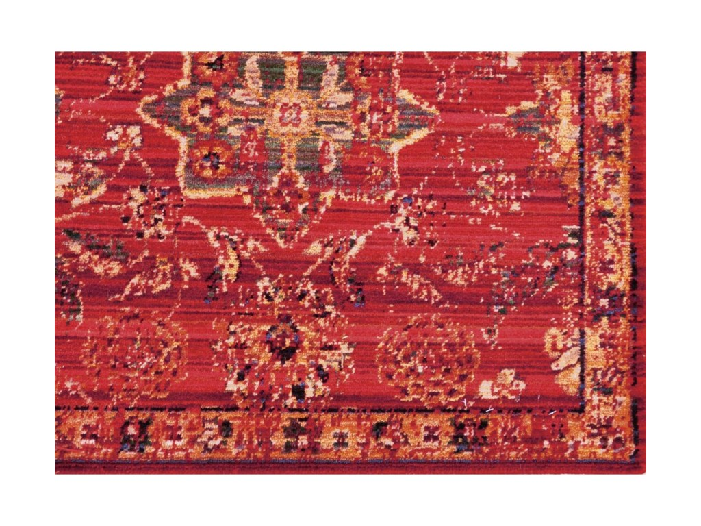 Nourison Timeless12' x 15' Red Rectangle Rug