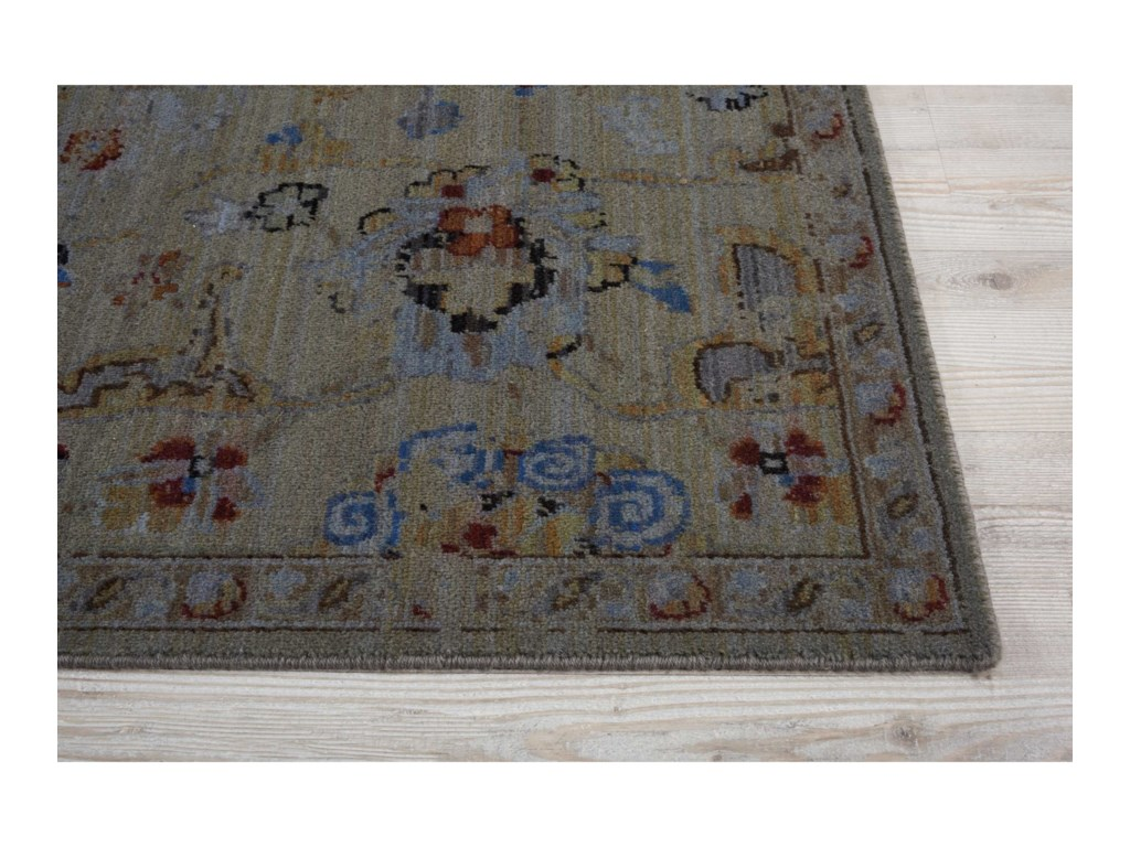 Nourison Timeless12' x 15' Taupe Rectangle Rug