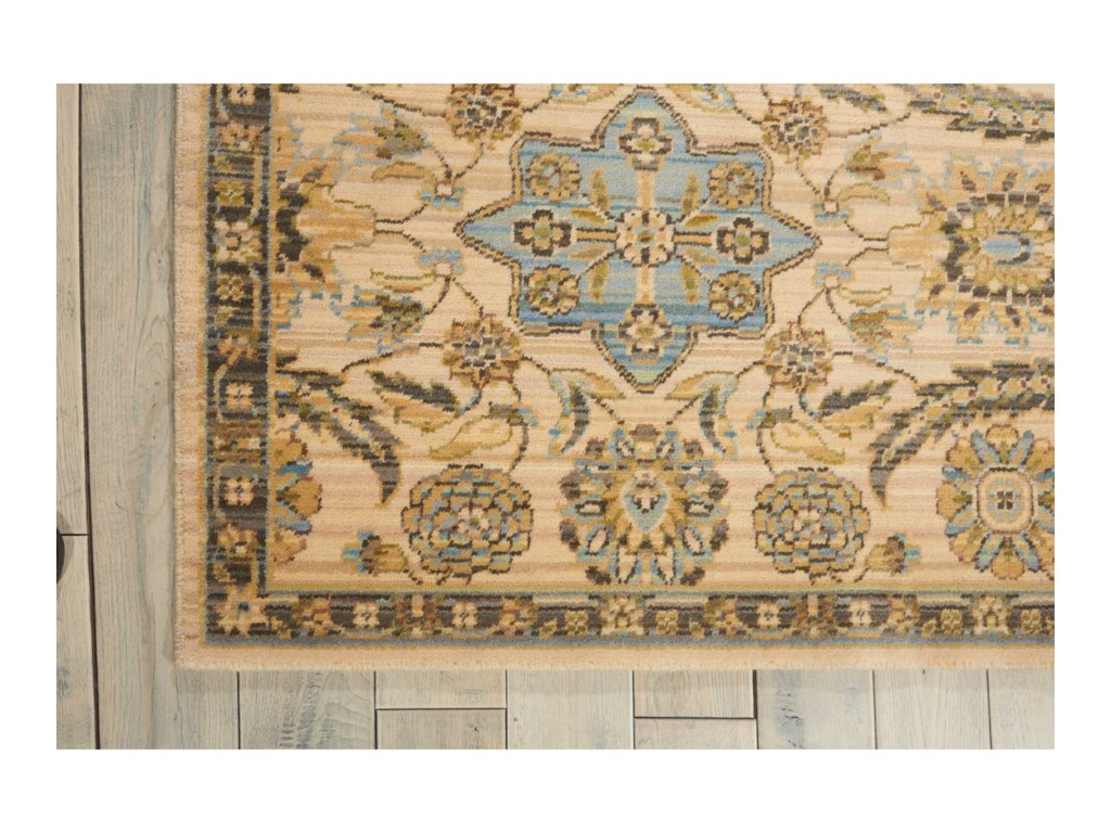 Nourison Timeless12' x 15' Beige Rectangle Rug