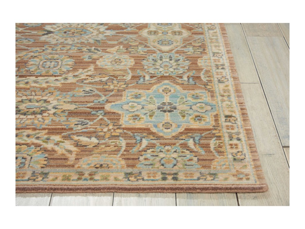 Nourison Timeless12' x 15' Mocha Rectangle Rug