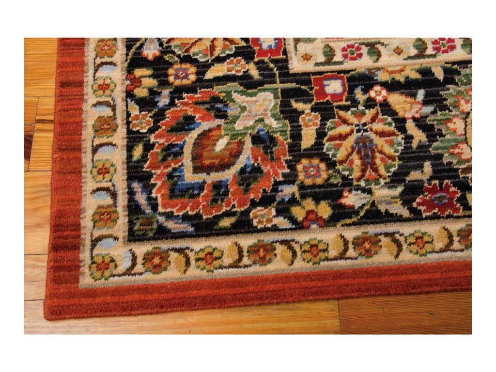 Nourison Timeless12' x 15' Persimmon Rectangle Rug