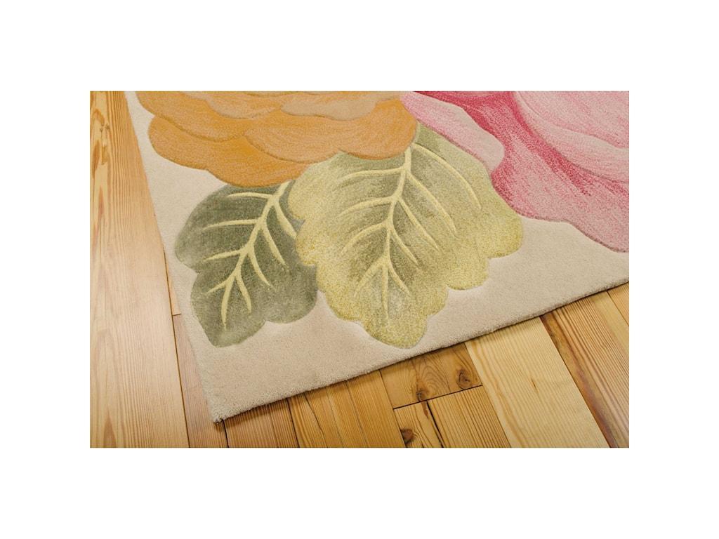 Nourison Tropics8' x 11' Multicolor Rectangle Rug