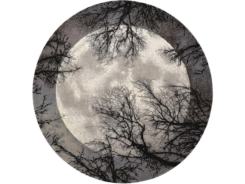 Nourison Twilight18' X 8' Moon Rug
