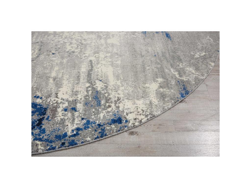 Nourison Twilight18' X 8' Blue/Grey Rug