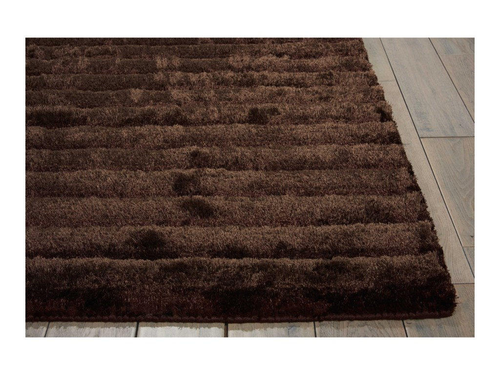 Nourison Urban Safari8' x 10' Mahogany Rectangle Rug