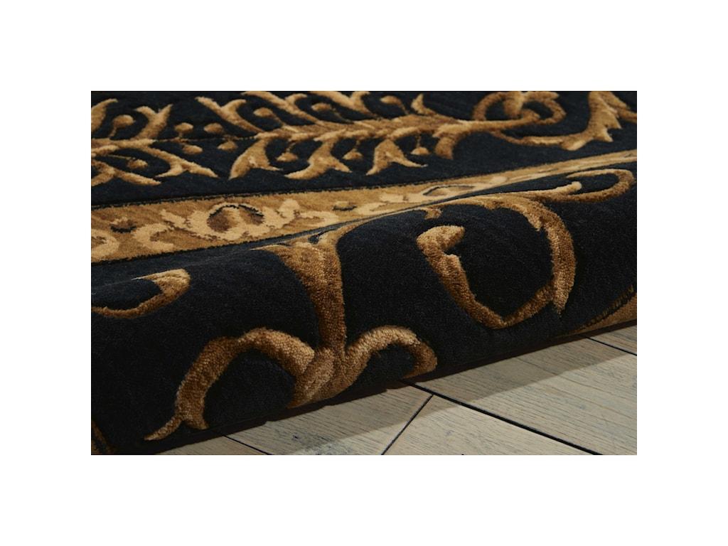 Nourison Vallencierre8' x 8' Beige Black Octagon Rug