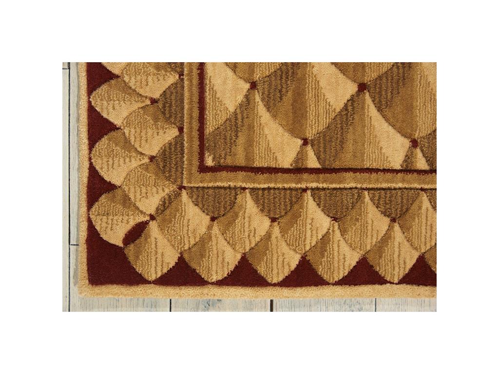 Nourison Vallencierre2' x 3' Camel Rectangle Rug