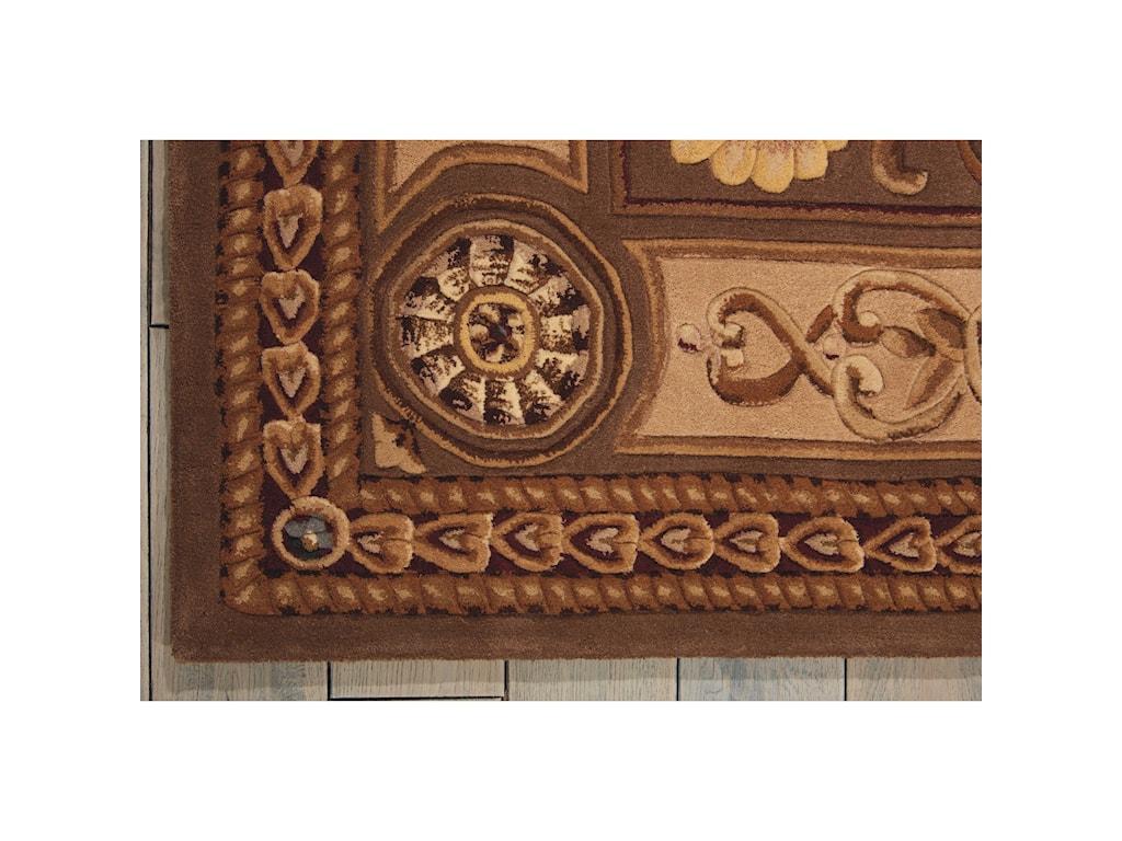 Nourison Versailles Palace6' x 6' Mushroom Octagon Rug