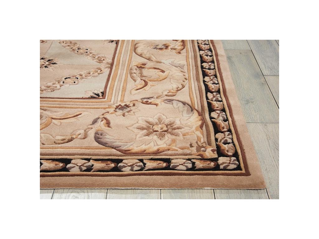 Nourison Versailles Palace8' x 8' Beige Square Rug