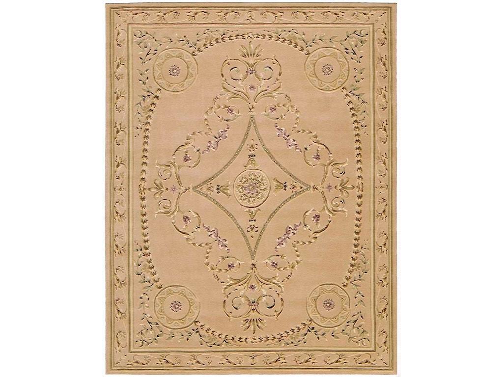 Nourison Versailles Palace8' x 11' Beige Rectangle Rug