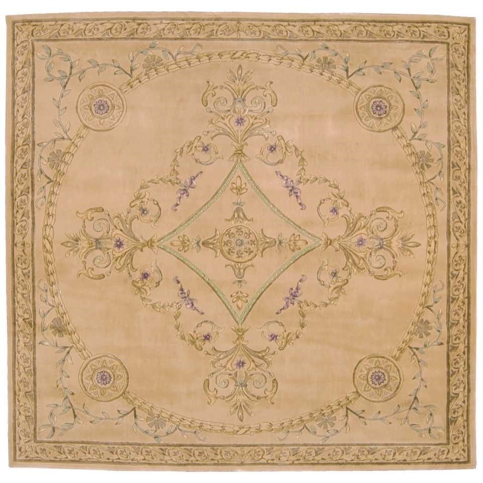 Versailles Palace 8 X 8 Beige Square Rug Rotmans Rugs