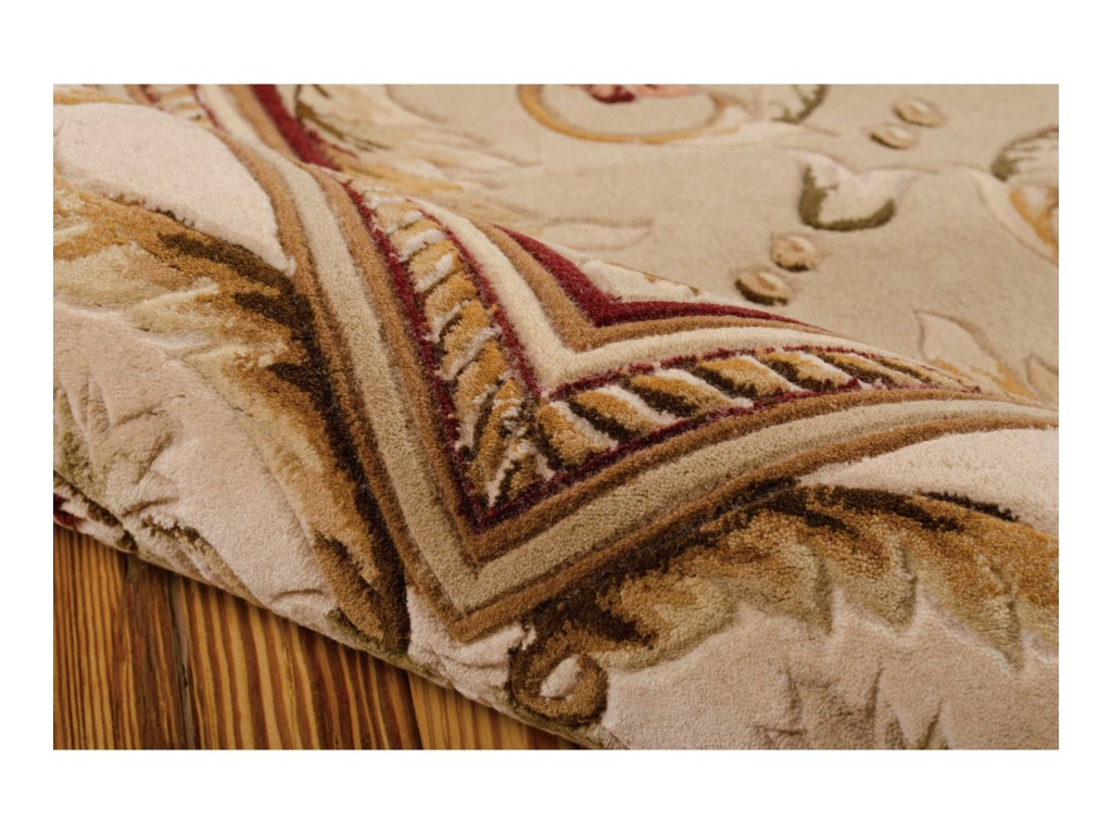 Nourison Versailles Palace8' x 11' Sage Rectangle Rug