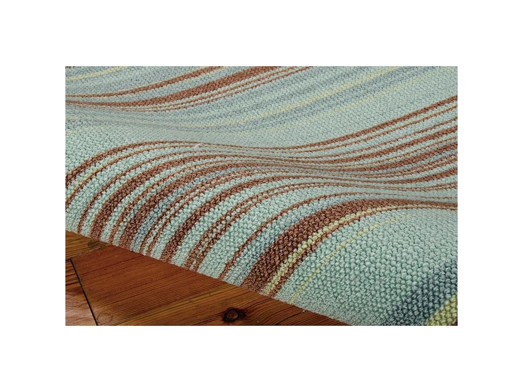 Nourison Vista8' x 10' Blue Rectangle Rug