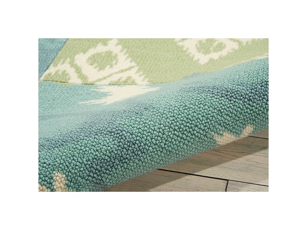 Nourison Vista4' x 6' Multicolor Rectangle Rug