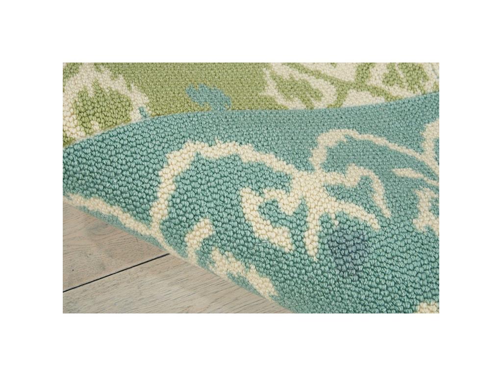 Nourison Vista8' x 10' Multicolor Rectangle Rug
