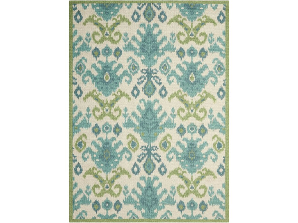 Nourison Vista 2 6 X 8 Ivory Runner Rug Home Collections