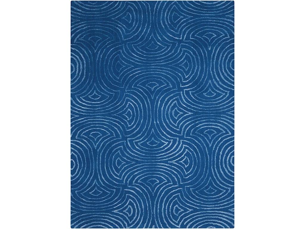 Nourison Vita8' X 10' Blue Rug