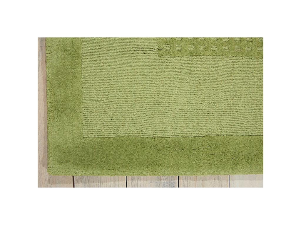 Nourison Westport5' x 8' Lime Rectangle Rug