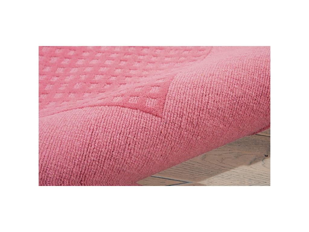 Nourison Westport5' x 8' Pink Rectangle Rug