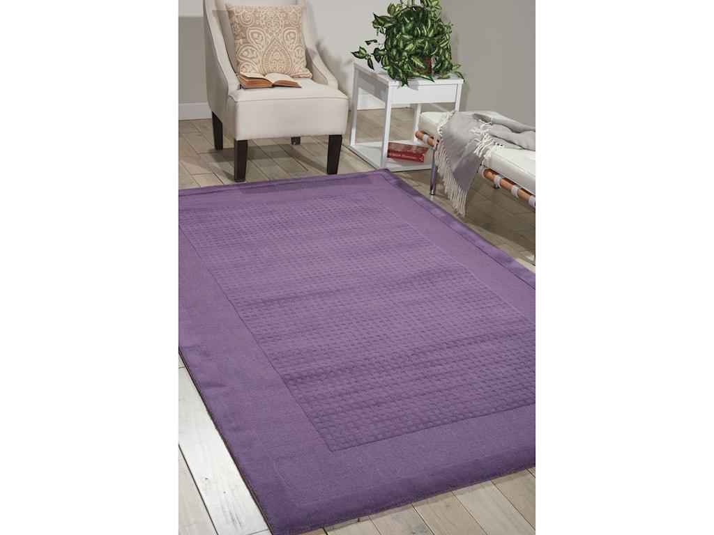 Nourison Westport5' x 8' Purple Rectangle Rug