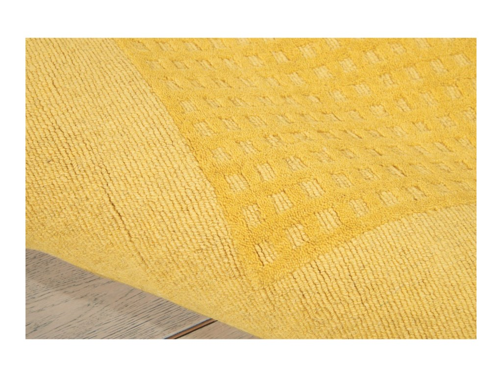 Nourison Westport5' x 8' Yellow 605 Rectangle Rug
