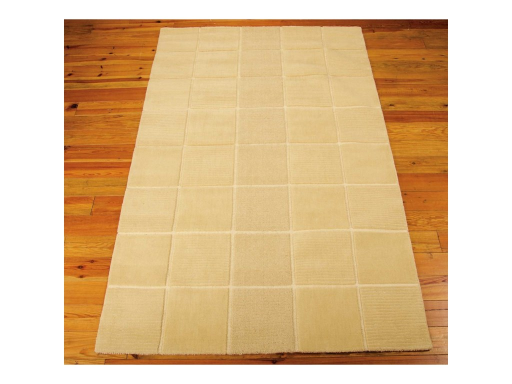 Nourison Westport5' x 8' Ivory Rectangle Rug
