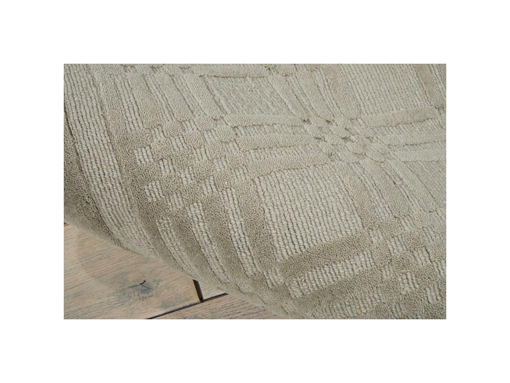Nourison Westport5' x 8' Grey Rectangle Rug