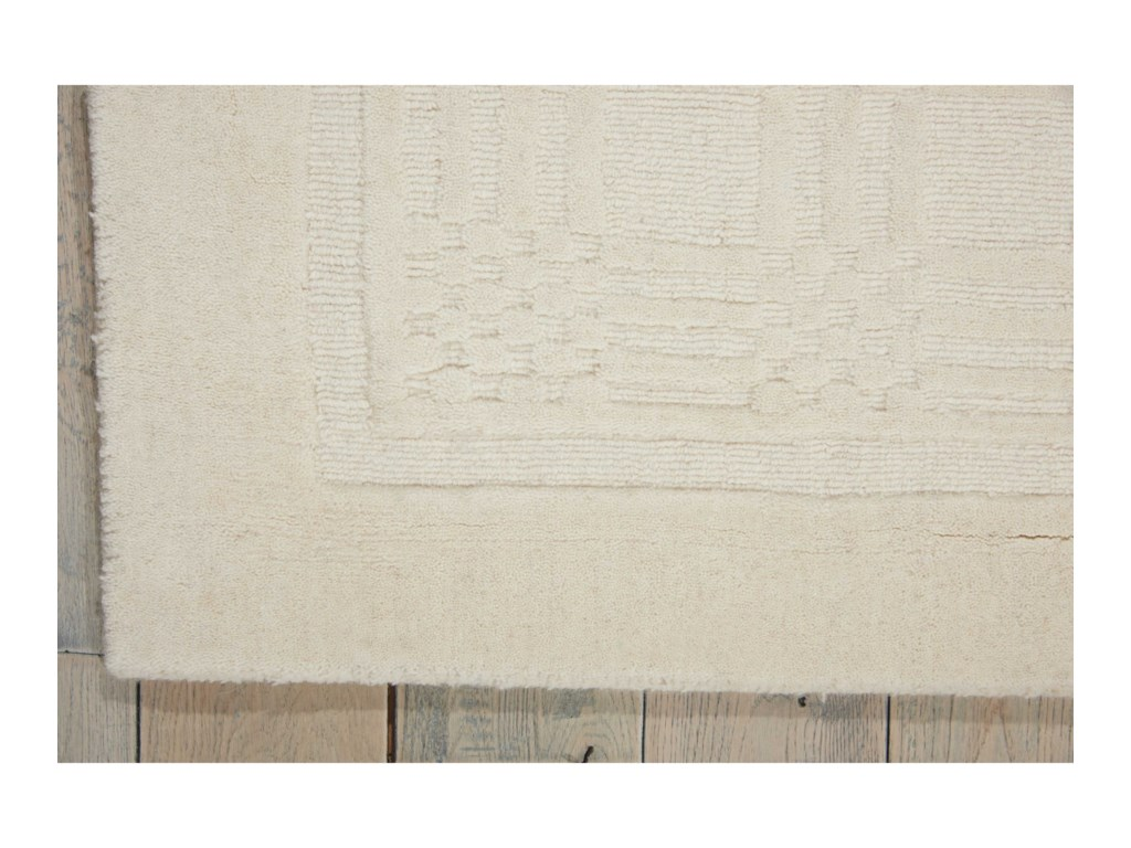 Nourison Westport5' x 8' Ivory Rectangle Rug