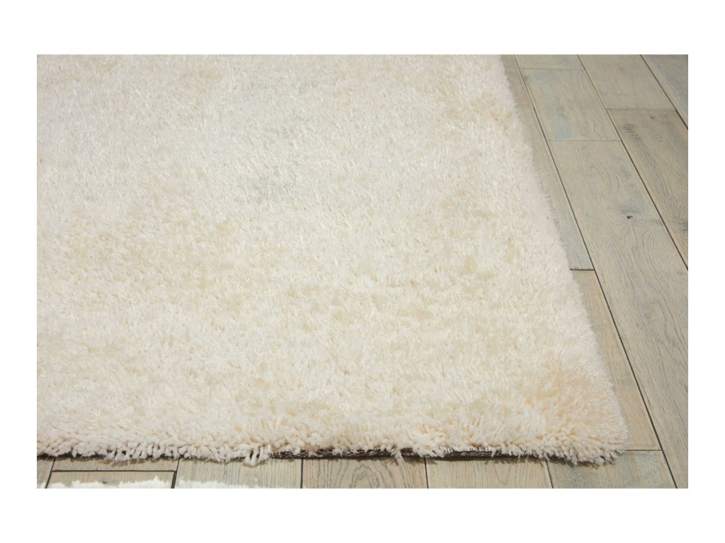 Nourison Zuma5' x 7' Ivory Rectangle Rug