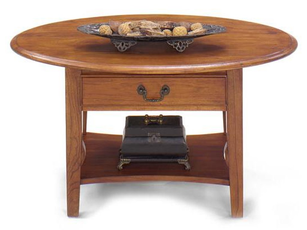 Null Furniture 1900 International AccentsPetite Oval Cocktail Table