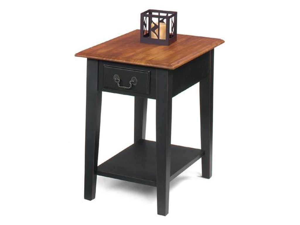 Null Furniture 1900 International AccentsRectangular End Table