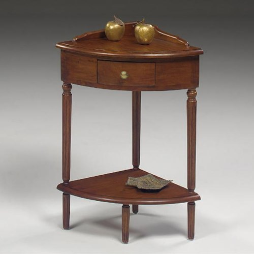 Null Furniture 1900 International Accents Corner End Table