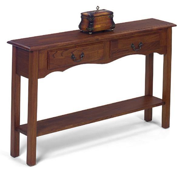 Null Furniture 1900 International AccentsPetite Extra Long Console