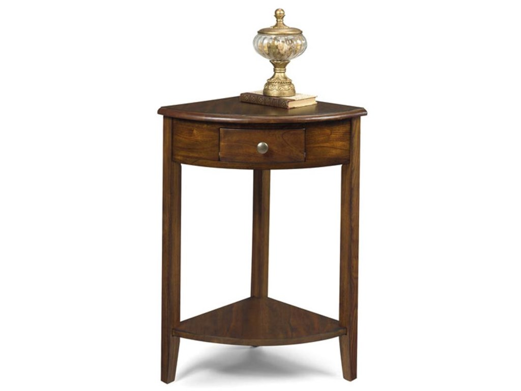 Null Furniture 1900 International AccentsCorner Console End Table