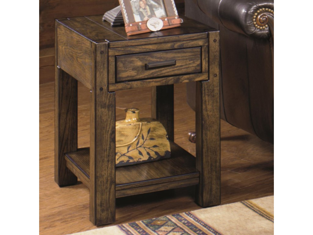 Null Furniture 2014Rectangular End Table