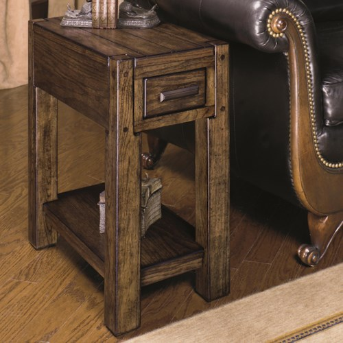 Null Furniture 2014 Chairside End Table with Shelf