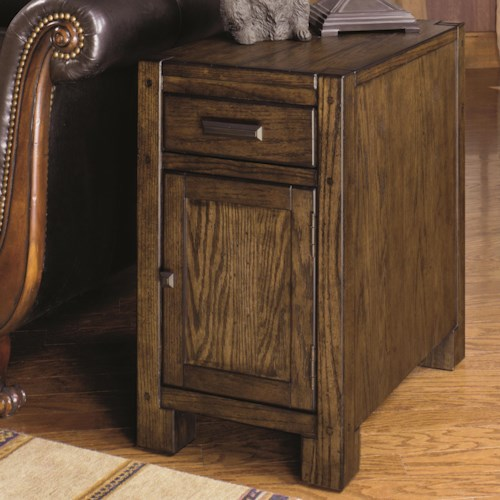 Null Furniture 2014 Chairside Cabinet with Magazine Rack