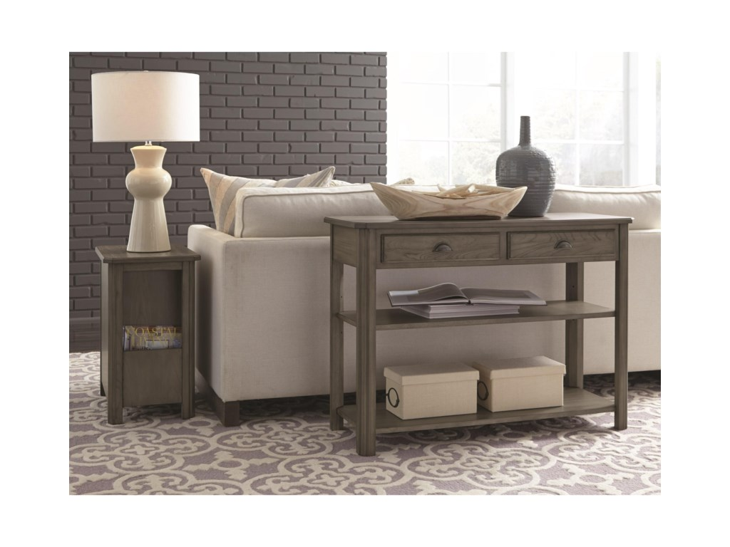 Null Furniture 2114Chairside Cabinet Table