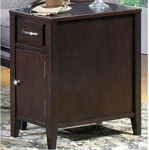 Null Furniture 3012 End Table with Drawer and Door