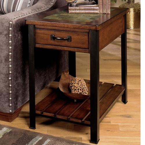 High Quality Null Furniture 3013 End Table With Drawer And Shelf   Dunk U0026 Bright  Furniture   End Table