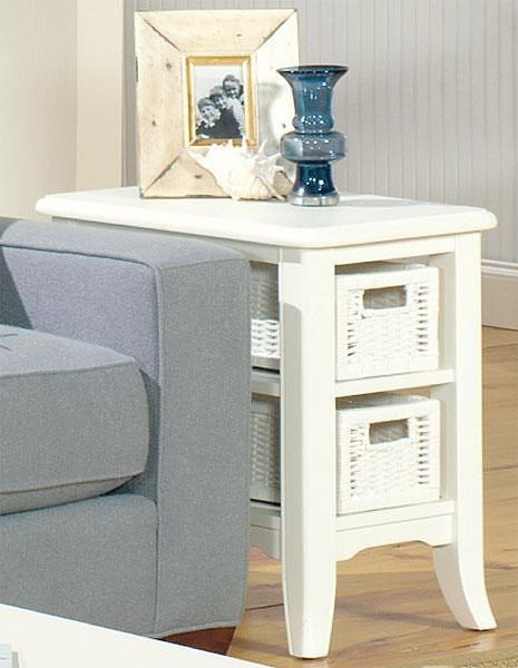 Null Furniture 4010W CHAIRSIDE TABLE